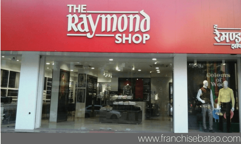Raymonds clothing franchise Business Opportunity